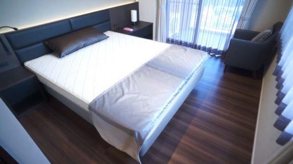 ロイジェントパークス赤坂のベッドルーム