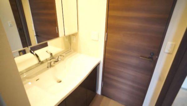 ロイジェントパークス赤坂の洗面台